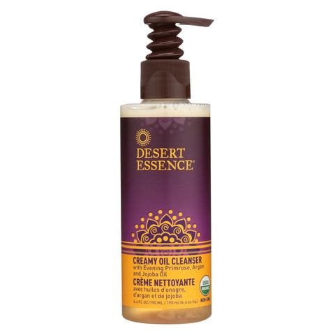 Desert Essence Creamy Oil Cleanser - 6.4 Fl Oz.