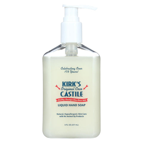 Kirk's Natural Liquid Hand Soap - 8 Oz.