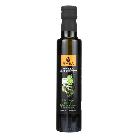 Gaea Greek Vinaigrette - Olive Oil - Case Of 8 - 8.5 Oz.