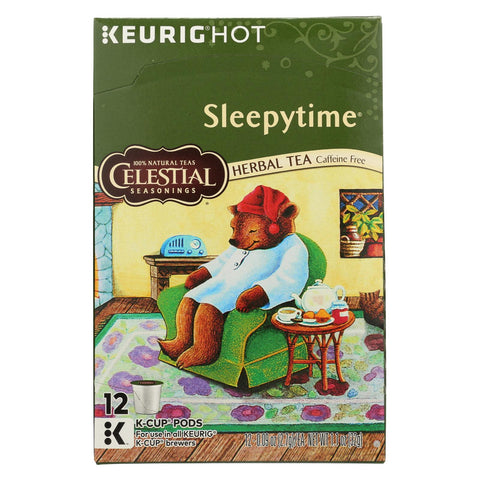 Celestial Seasonings Herbal Tea K Cup - Sleepytime - Case Of 6 - 12 Count