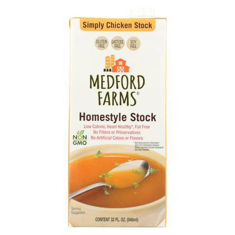 Medford Farms, Homestyle Chicken Stock - Case Of 12 - 32 Fz