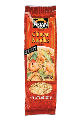 Asian Gourmet Noodles - Chinese - Case Of 12 - 8 Oz