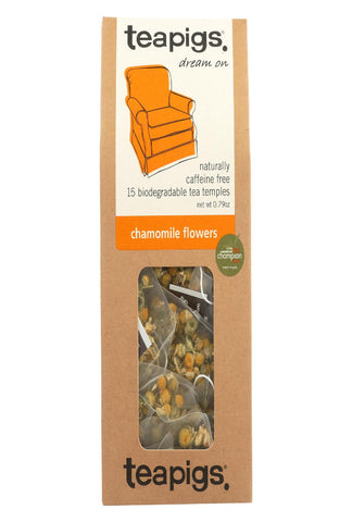 Teapigs Tea - Chamomile Flowers - Case Of 6 - 15 Count