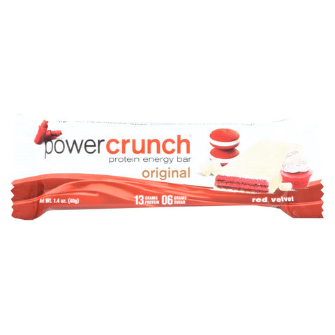 Power Crunch Protein Energy Bar Red Velvet - Case Of 12 - 1.4 Oz