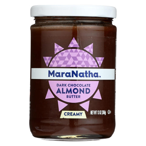 Maranatha Creamy Dark Chocolate Almond Butter  - Case Of 6 - 13 Oz