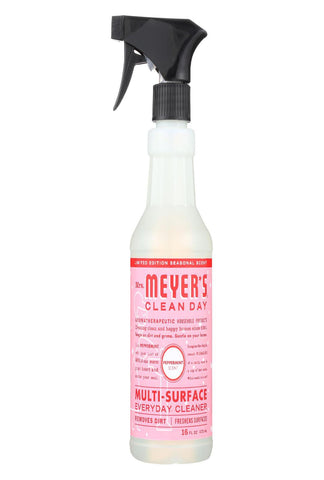 Mrs. Meyers Clean Day - Multi-surface Everyday Cleaner - Peppermint - Case Of 6 - 16 Fz