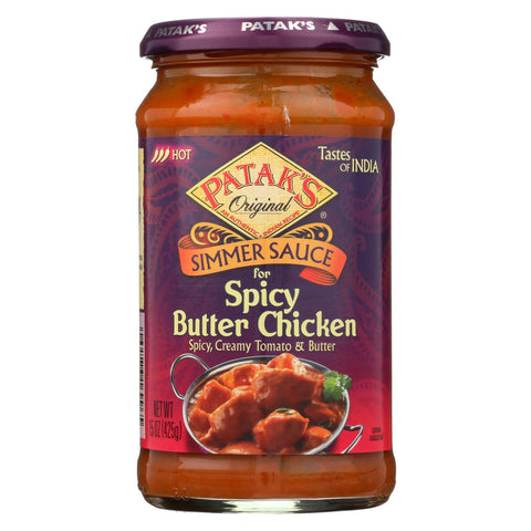 Patak's Simmer Sauce - Case Of 6 - 15 Oz