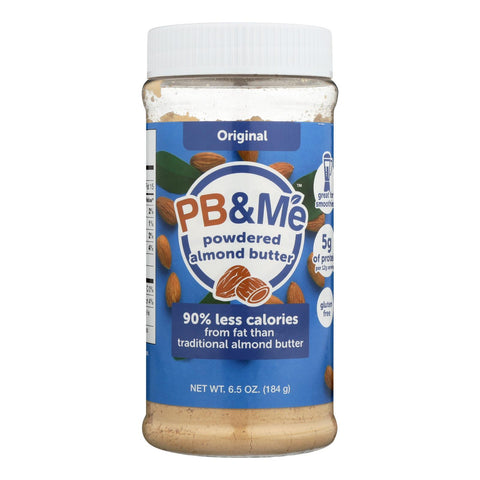 Pb & Me Powdered Almond Butter - Case Of 6 - 6.5 Oz