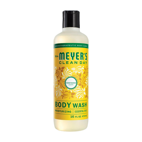 Mrs.meyers Clean Day Body Wash - Honesuckle - Case Of 6 - 16 Fl Oz