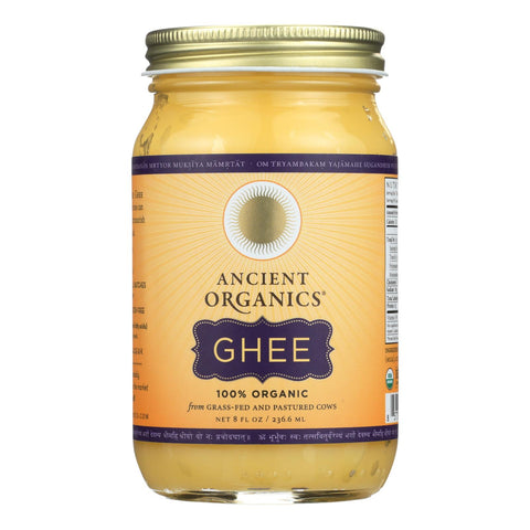 Ancient Organics Ghee  - Case Of 6 - 8 Fz