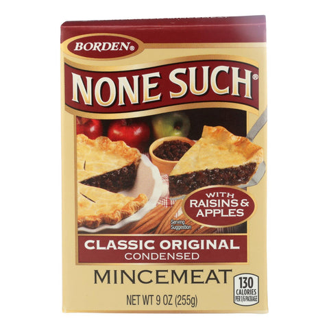 None Such - Mincemeat Condensed - Case Of 12 - 9 Oz
