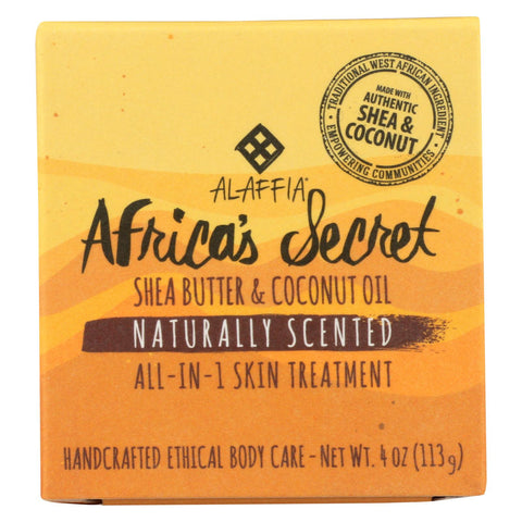 Alaffia - Multipurpose Skin Cream - 4 Oz.