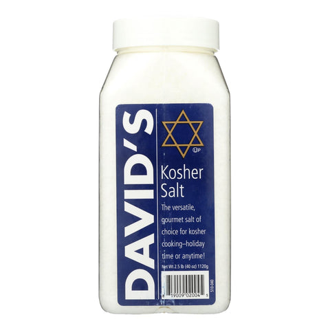 David's Kosher Salt - Case Of 6 - 40 Oz