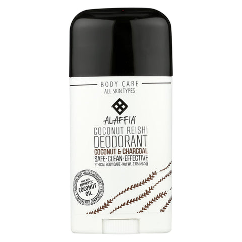 Alaffia Deodorant Coconut Reishi - Case Of 2.65 - 2.65 Oz.