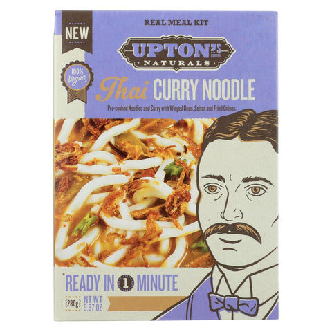 Upton's Naturals Meal Kit - Thai Curry Noodles - Case Of 6 - 9.87 Oz