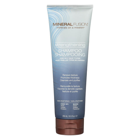 Mineral Fusion - Shampoo - Strengthening - 8.5 Fl Oz.