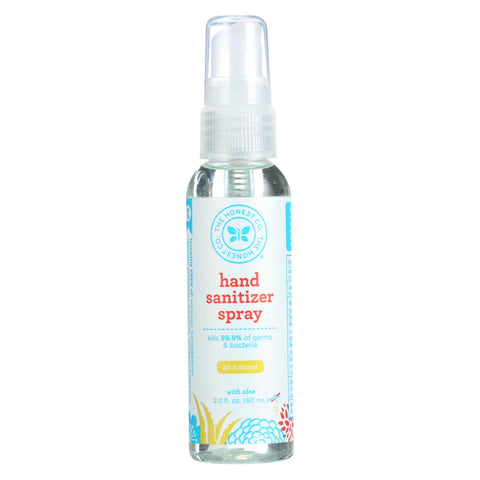 The Honest Company - Hand Sanitizer Spray - Grapefruit - Case Of 12 - 2 Fl Oz.