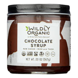 Wildly Organic Chocolate Syrup - Case Of 6 - 20 Oz