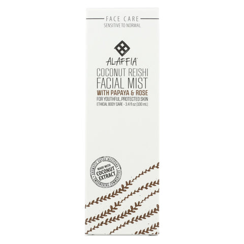 Alaffia - Facial Toning Mist - Coconut Fresh - 3.4 Fl Oz.