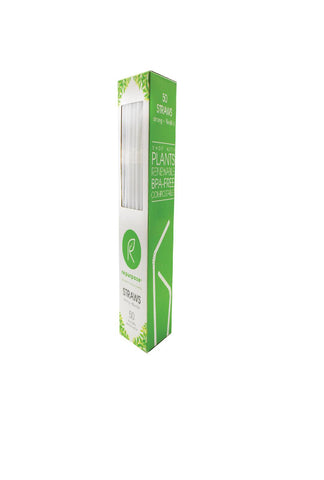 Repurpose Compostable Straws - Case Of 20 - 50 Count