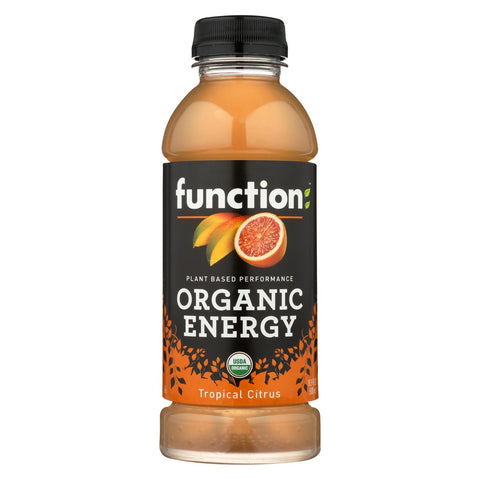 Function Drinks Drink - Organic - Tropical Citrus - Case Of 12 - 16.9 Fl Oz