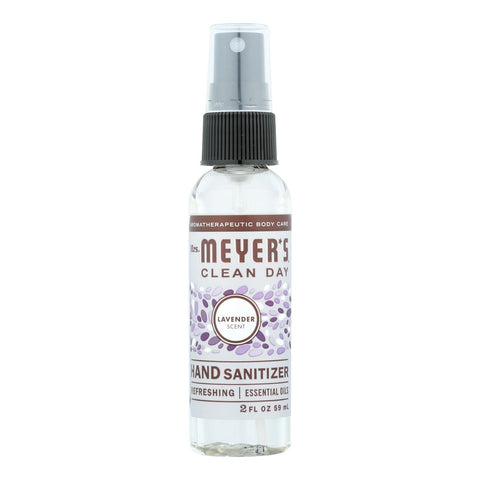 Mrs. Meyer's Clean Day - Hand Sanitizer - Lavender - Case Of 12 - 2 Fl Oz.