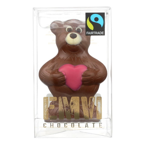 Emvi Chocolate - Chocolate Milk The Fair V-bear - Case Of 9-3 Oz