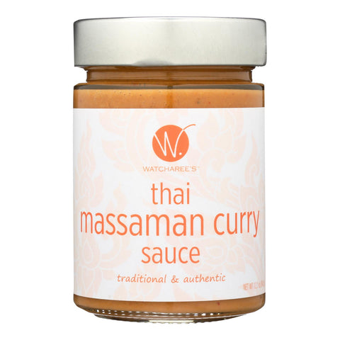 Watcharee's Thai Massaman Curry Sauce  - Case Of 6 - 12.2 Oz