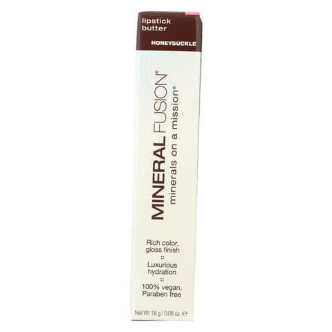 Mineral Fusion - Lipstick Butter - Honeysuckle - 0.06 Oz.