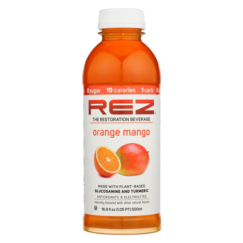 Rez - Beverage Orange Mango - Case Of 12 - 16.9 Fz