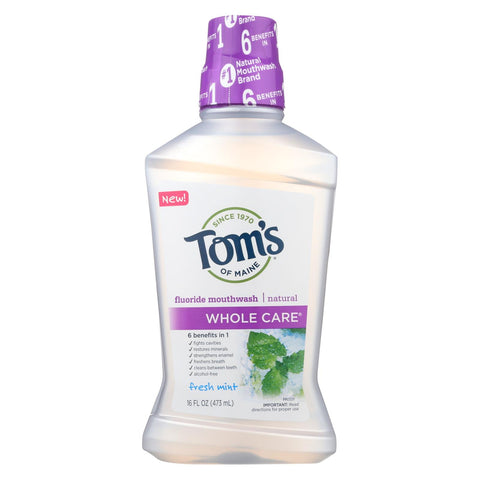Tom's Of Maine - Mouthwash Fresh Mint Whlc - 1 Each - 16 Fz