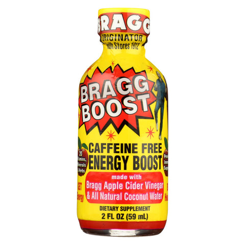 Bragg - Boost - Caffeine Free Energy Boost - Case Of 12 - 2 Fl Oz.