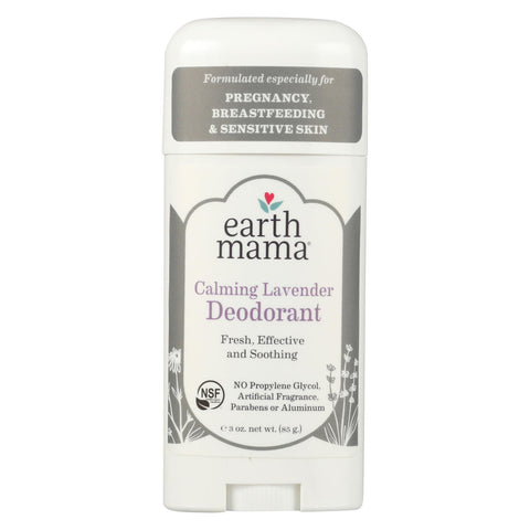 Earth Mama - Deodorant - Calming Lavender - 3 Oz.