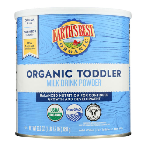 Earth's Best Organic Toddler Milk Drink Powder - Case Of 4 - 23.2 Oz