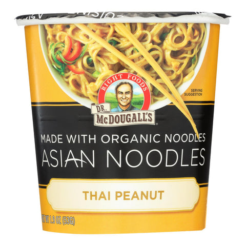 Dr. Mcdougall's Asian Noodle Soup, Thai Peanut  - Case Of 6 - 1.9 Oz