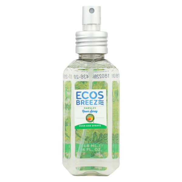 Ecos - Room Spray - Parsley - Case Of 6 - 4 Fl Oz.
