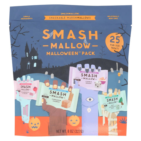 Smashmallow - Malloween Variety Pack - Case Of 8 - 8 Oz.