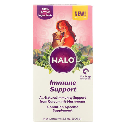 Halo Purely For Pets - Suplmnt Wf Immune Support - 1 Each - 3.5 Oz