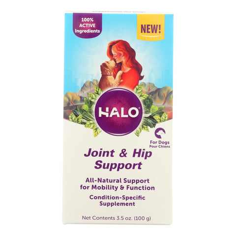 Halo Purely For Pets - Suplmnt Wf Jnt Hip Suport - 1 Each - 3.50 Oz