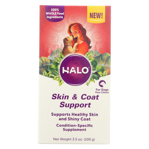 Halo Purely For Pets - Suplmnt Wf Skin Coat Sup - 1 Each - 3.50 Oz