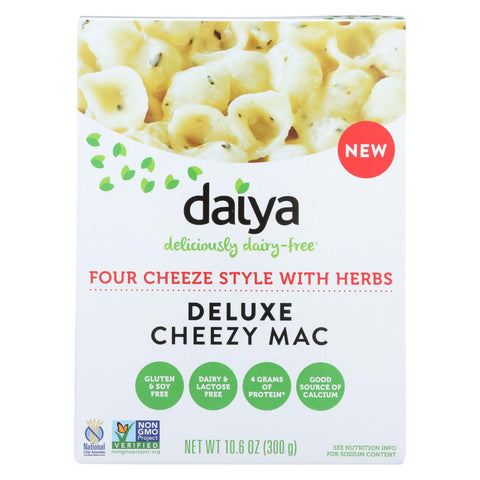Daiya Foods - Cheezy Mac - Four Cheese With Herbs - Cs Of 8 - 10.6 Oz.
