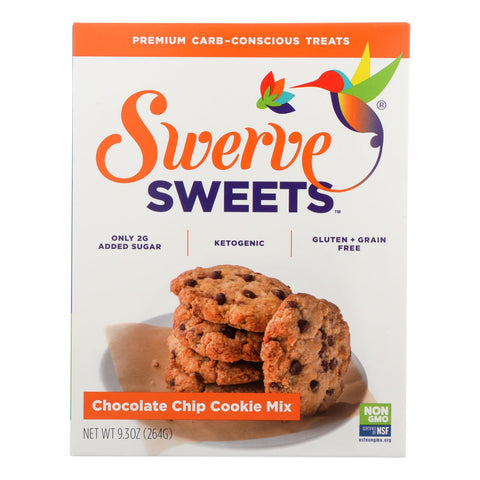 Swerve Sweets™ Chocolate Chip Cookie Mix Chocolate Chip - Case Of 6 - 9.3 Oz