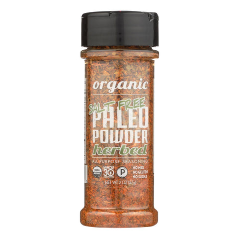 Paleo Powder Seasonings - All-purpose Seasoning Paleo Powder - Salt-free Herbed - Case Of 6 - 2 Oz.