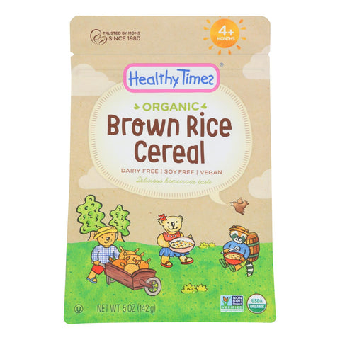 Healthy Times - Cerl Baby Wlgr Brn Ric - Case Of 6 - 5 Oz