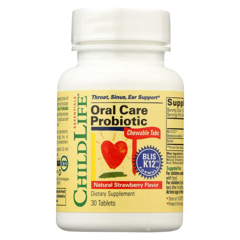 Child Life Essentials - Oral Care Probiotic - 30 Tab