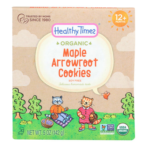 Healthy Times - Cookies Arrowroot Maple - Case Of 6 - 5 Oz
