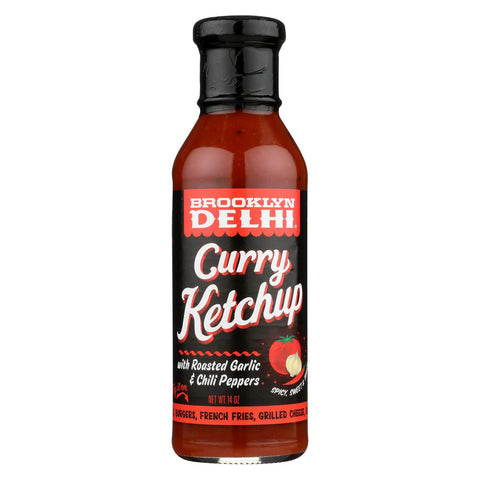 Brooklyn Delhi  - Curry Ketchup - Case Of 6 - 13 Oz
