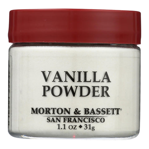 Morton & Bassett - Vanilla Powder - Case Of 3 - 1.10 Oz
