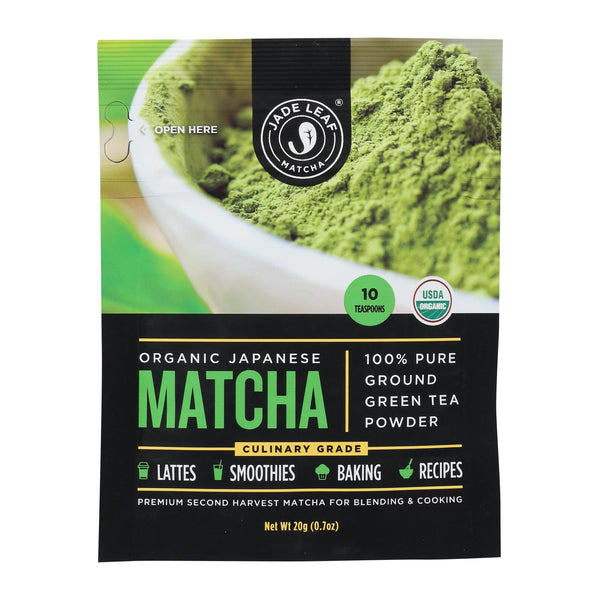 Jade Leaf Organics - Tea - Culinary Matcha - Case Of 8 - 0.7 Oz.
