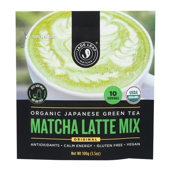 Jade Leaf Organics - Tea - Matcha Latte Mix - Case Of 8 - 0.7 Oz.